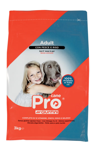 Pro cane dog food fish
