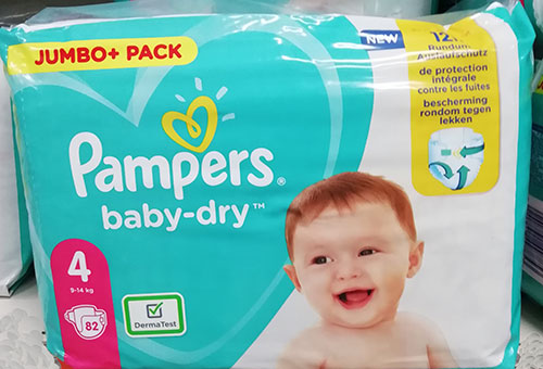 Pampers Baby Dry 4 Jumbo Pack
