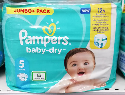 Pampers Baby Dry 5 Jumbo Pack