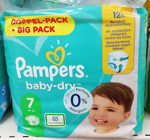 Pampers Baby Dry 7 Jumbo Pack
