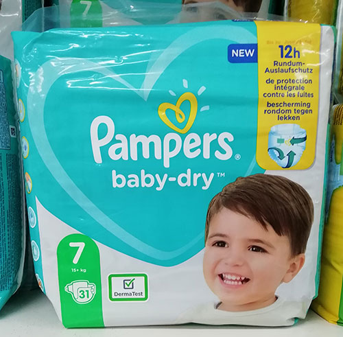 Pampers Baby Dry 7
