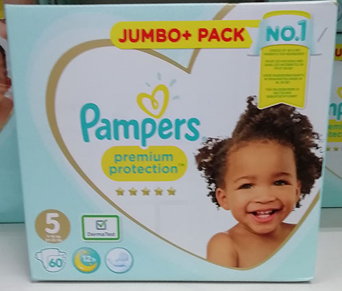 Pampers Premium Protection 5 Jumbo Pack