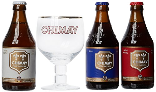 Chimay Trilogy + 1 Glass 7,8,9%