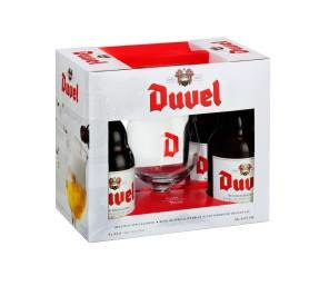 Duvel 8.5% (44x33cl+Glass) Gift