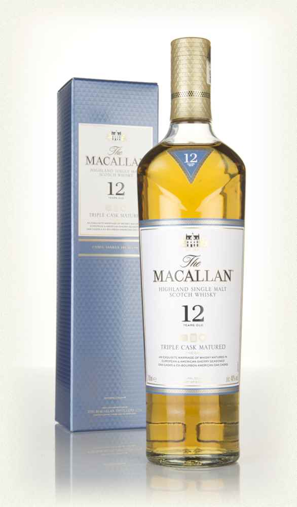The Macallan Trible Cask 12 Y.O