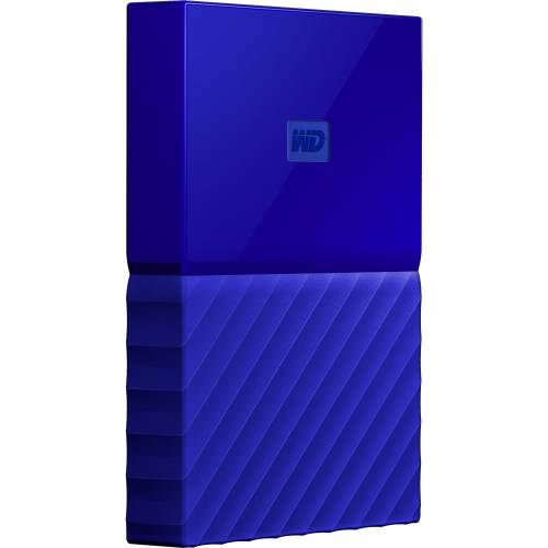 WESTERN DIGITAL HDD EXTERNAL 2TB MY PASSPORT BLUE