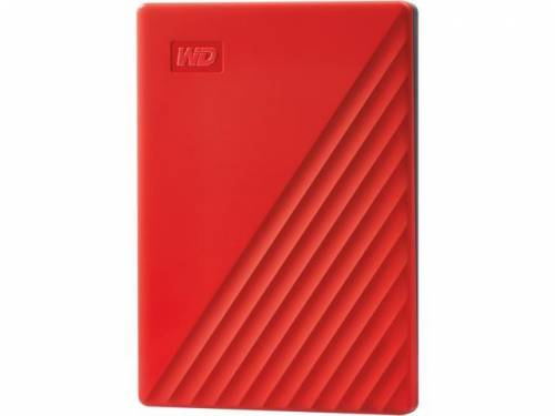 WESTERN DIGITAL HDD EXTERNAL 2TB MY PASSPORT RED