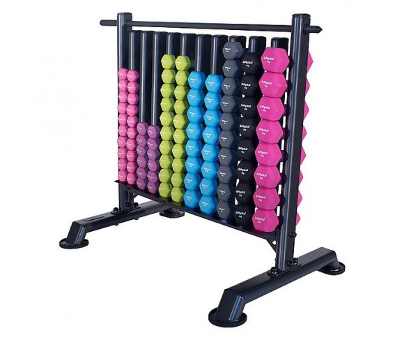 Dumbbell Storage Rack with 48 pairs of Neo Hex Dbells