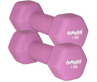 Physical Neo-Hex Dumbell Pair (2 x 1.5kg)