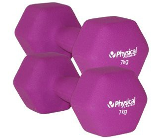 Physical Neo-Hex Dumbell Pair (2 x 7kg)