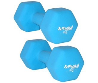 Physical Neo-Hex Dumbell Pair (2 x 9kg)