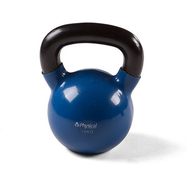 Physical Vinyl Dipped Kettlebell - 16kg